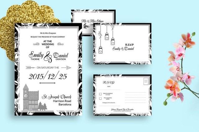 Sample Wedding Invitation 50 Wonderful Wedding Invitation Card Design Samples Design Shack