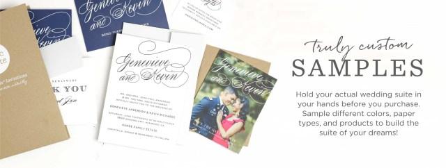 Sample Wedding Invitation Custom Sample