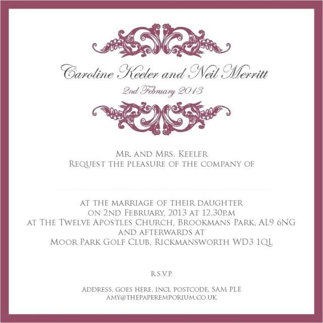 Sams Club Wedding Invitations