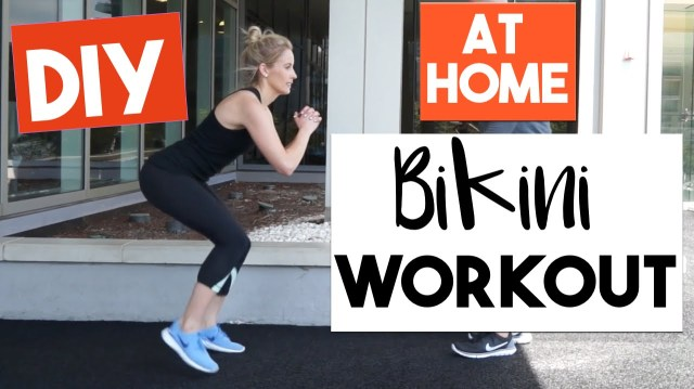 Sharrah Robeson Wedding Quick Easy At Home Workout 10 Min Bikini Workout Vloggest