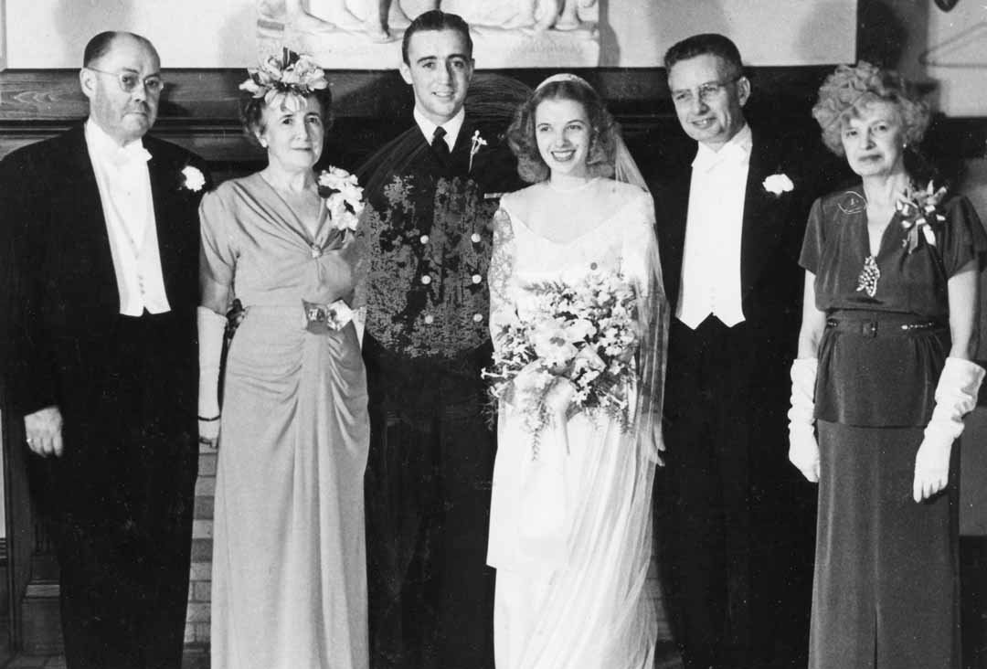 Sharrah Robeson Wedding Robert Robie Robeson 1923 2017 Coronado Times