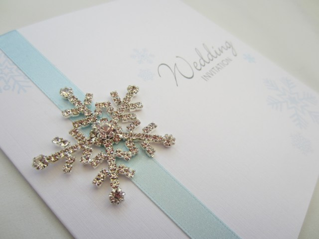 Snowflake Themed Wedding Invitations The Best Wedding Invitations For You Christmas Themed Wedding