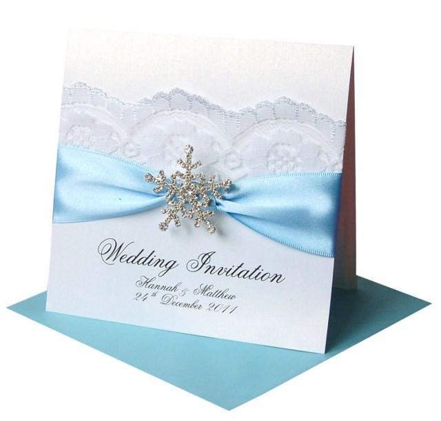 Snowflake Themed Wedding Invitations Winter Wedding Invitations Snowflake Crystal Wedding Ideas