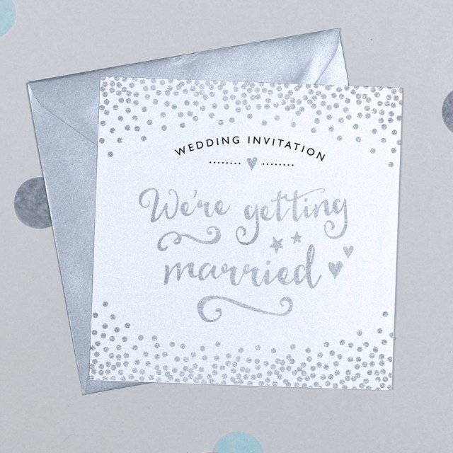 Sparkle Wedding Invitations 10 Pack Of Glitter And Sparkle Wedding Invitations Michelle
