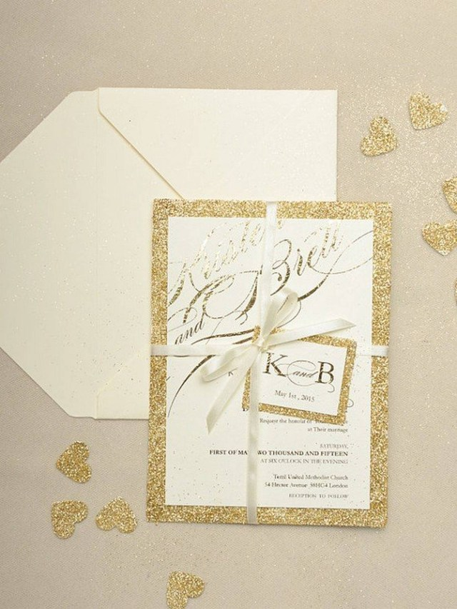 Sparkle Wedding Invitations 206458 Gold Sparkle Wedding Invitations Mofohockey Org Sparkle