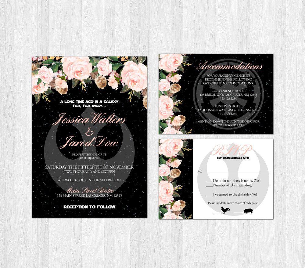 Star Wars Wedding Invitations Pin Wedding Images On Wedding Invitation Pinterest Wedding