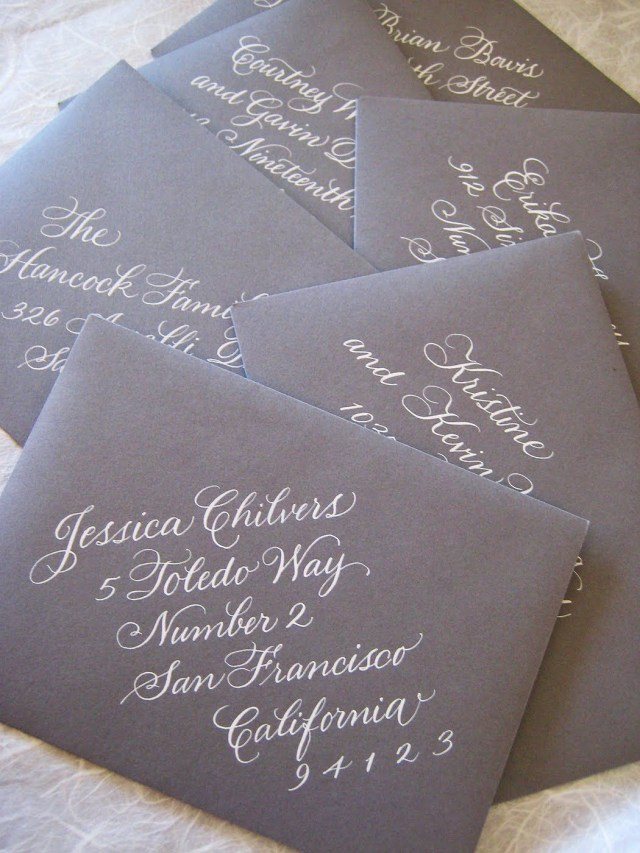 Stuffing Wedding Invitations Addressing Wedding Invitation Etiquette Outer Envelope New Stuffing
