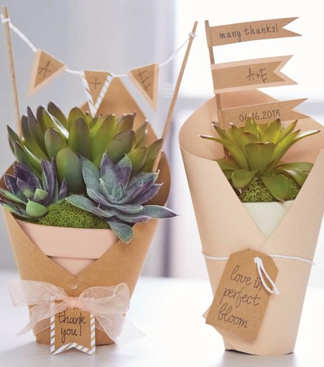 Succulent Wedding Decorations How To Make Succulent Wedding Favors Joann