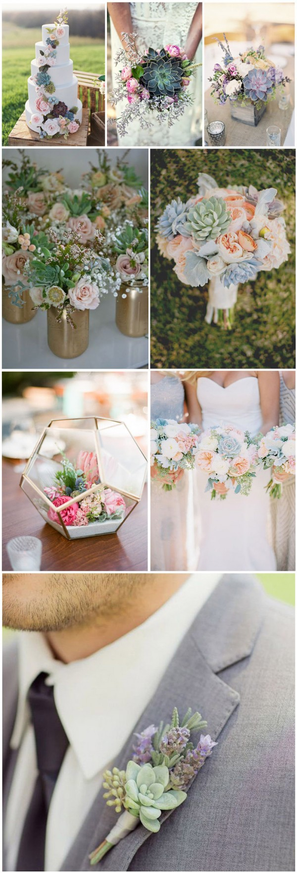 Succulent Wedding Decorations Top 10 Flowers Themed Wedding Ideas For Outdoor Ceremony