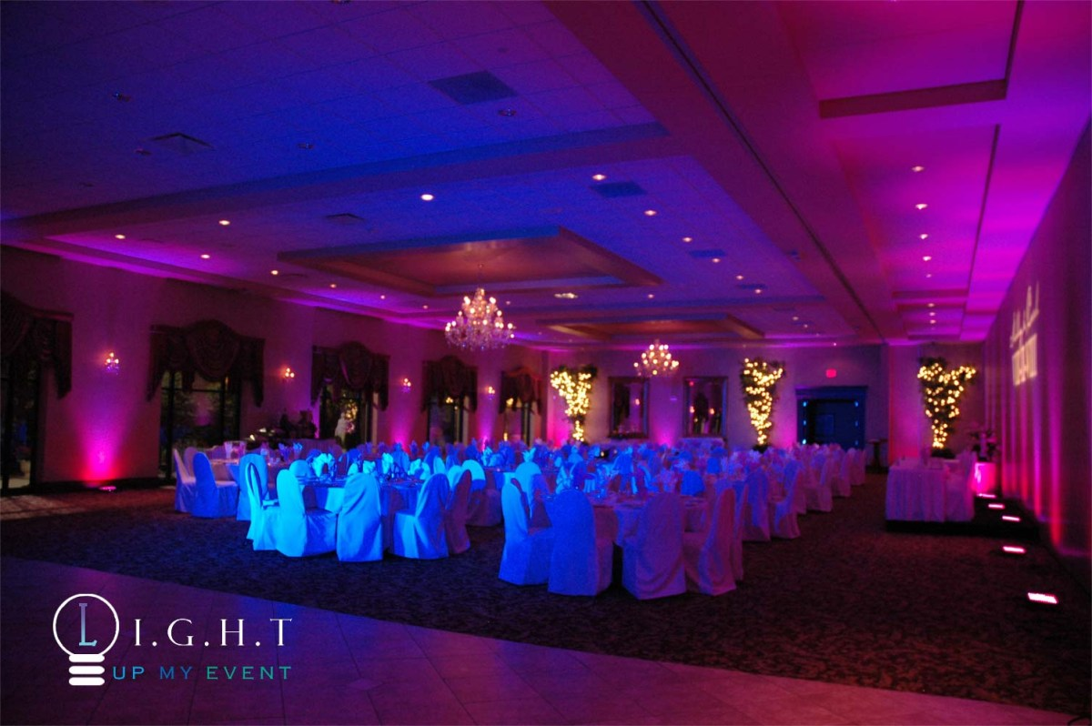 Table Lights Wedding Michigan Uplighting Pinspots Table Lighting Ceiling Wash Bistro