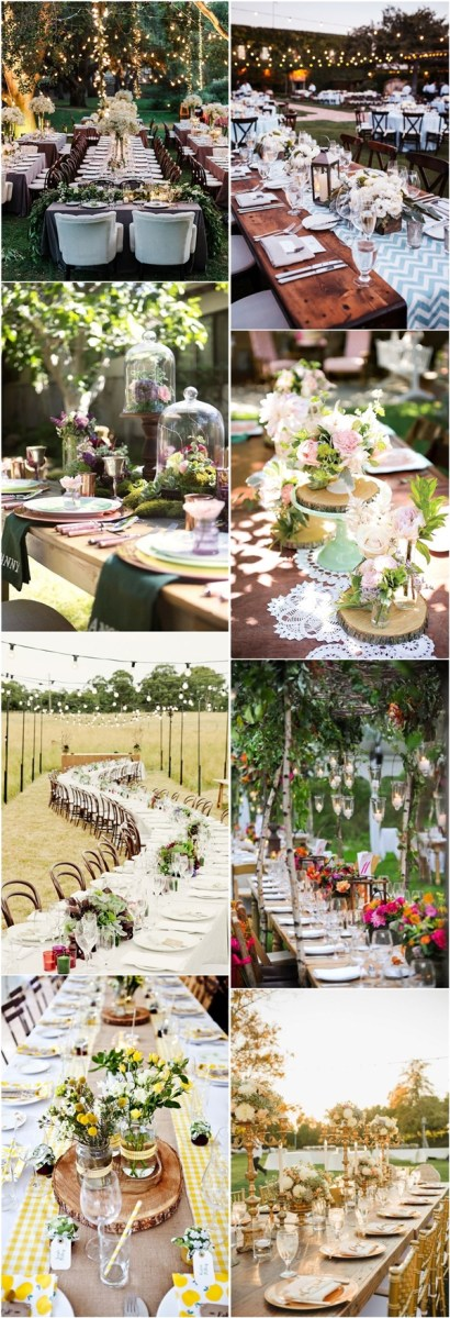 Tablescapes Ideas Wedding 25 Chic Country Rustic Wedding Tablescapes Deer Pearl Flowers