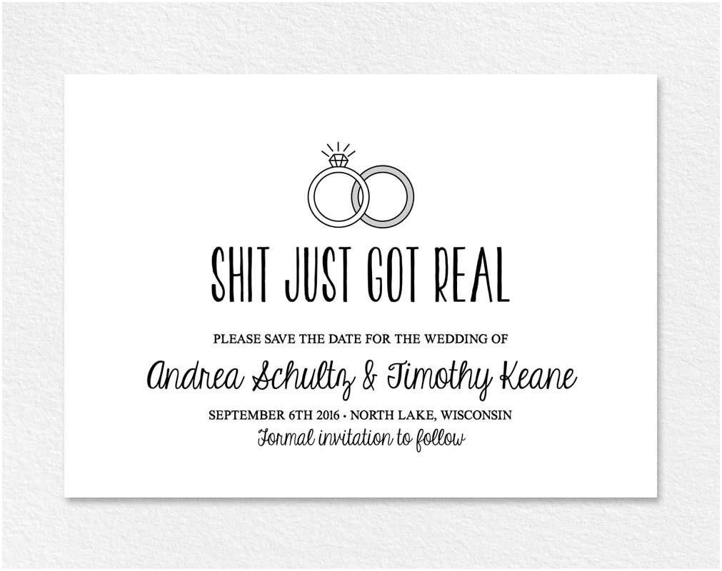 Unique Wedding Invitation Ideas Quotes Funny Wedding Invitation Sayings Wwwbilderbeste