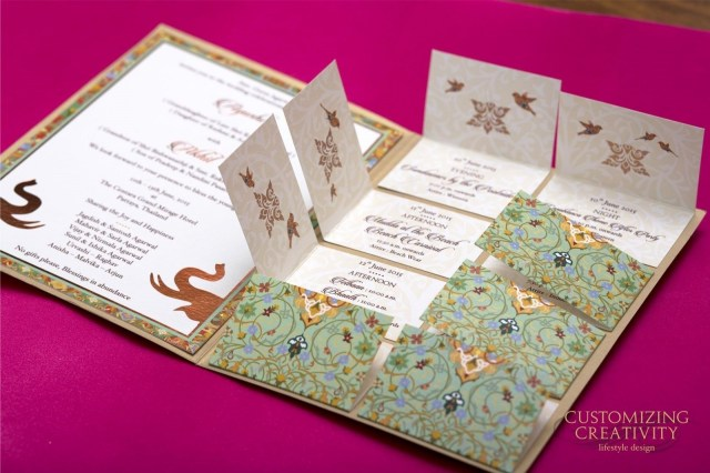 Unique Wedding Invitation Ideas Unique Wedding Invitation Cards Mahi Arora Medium