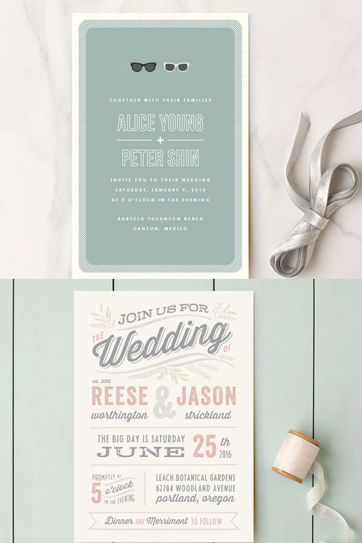 Unique Wedding Invitation Ideas Wedding Invitation Wording That Wont Make You Barf Wedding