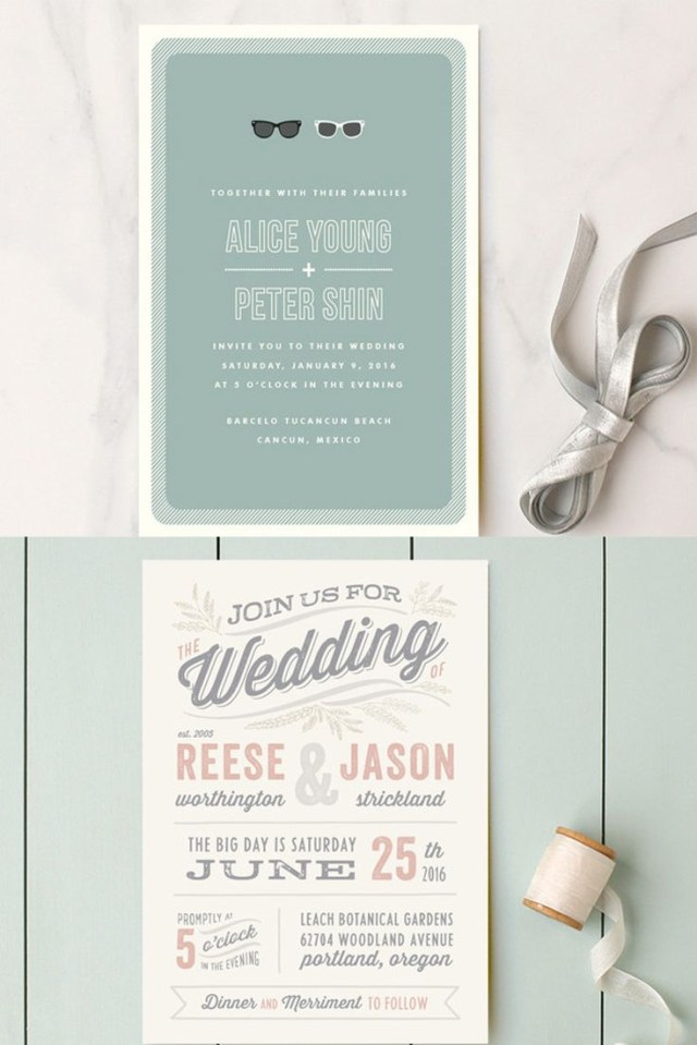 Unique Wedding Invitation Ideas Wedding Invitation Wording That Wont Make You Barf Wedding