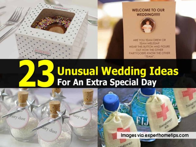 Unusual Wedding Ideas 23 Unusual Wedding Ideas For An Extra Special Day