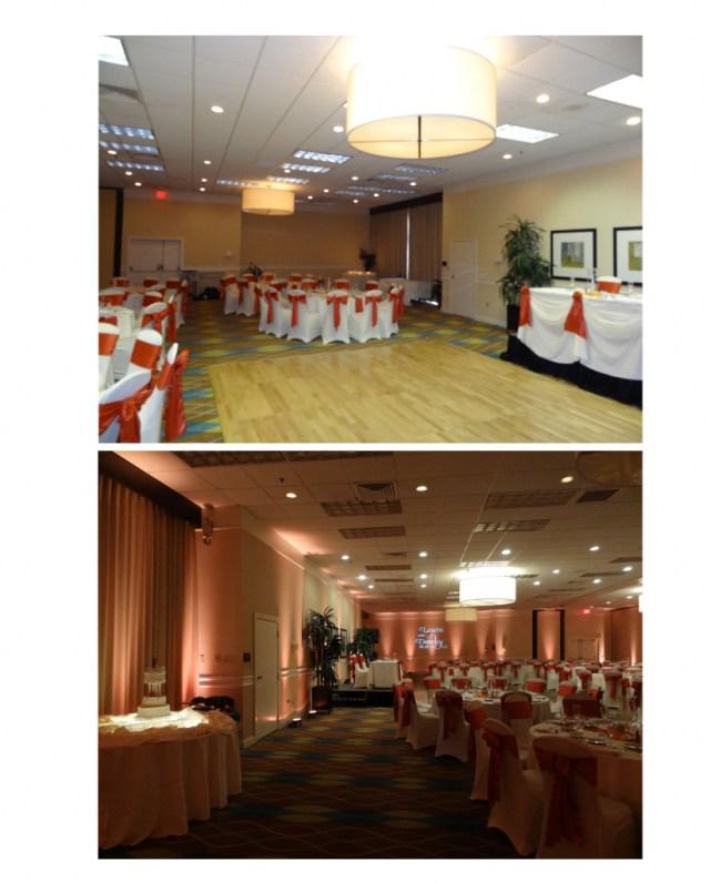 Uplighting Wedding Diy How To Create Diy Autumn Wedding Ambiance With Uplighting