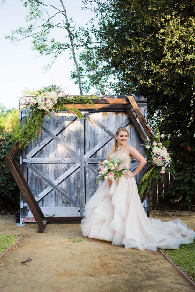 Vintage Wedding Ideas Blush Rustic Vintage Wedding Ideas Every Last Detail