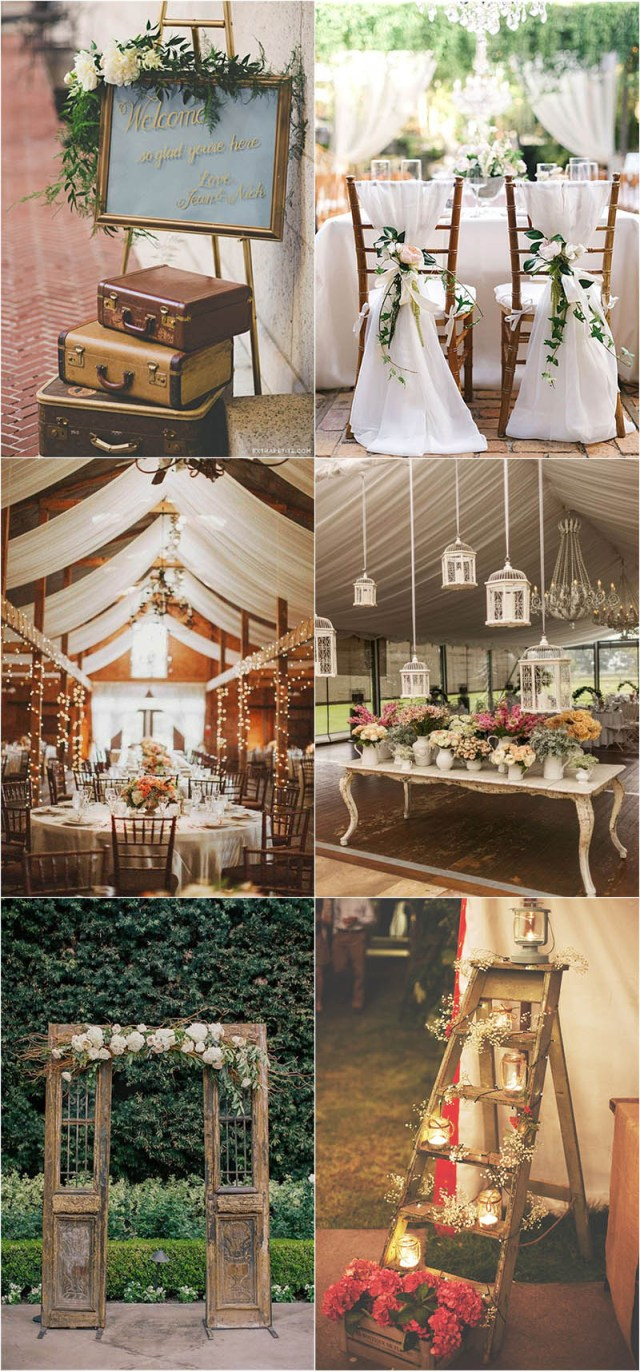 Vintage Wedding Ideas Shab Chic Vintage Wedding Ideas You Cant Say No To