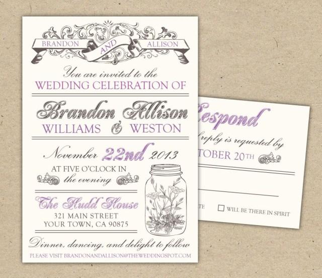 Vintage Wedding Invitation Templates Free Templates For Invitations Free Printable Vintage Wedding