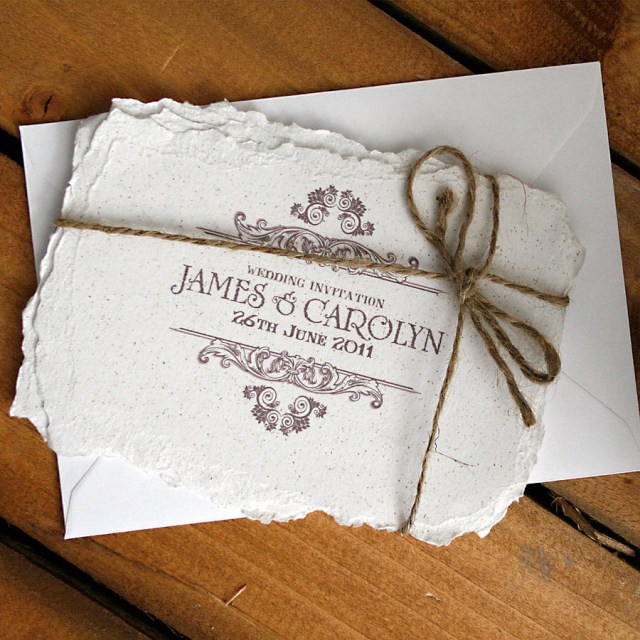 Vintage Wedding Invitations Vintage Style Wedding Invitation Solographic Art