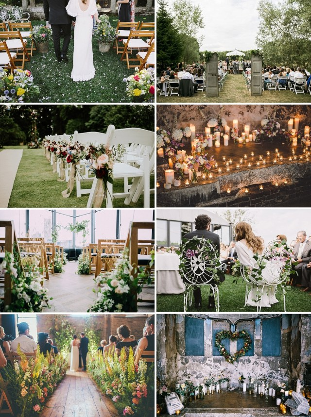 Wedding Alter Decorations Beautiful And Unique Ways To Decorate Your Wedding Aisle Rock My