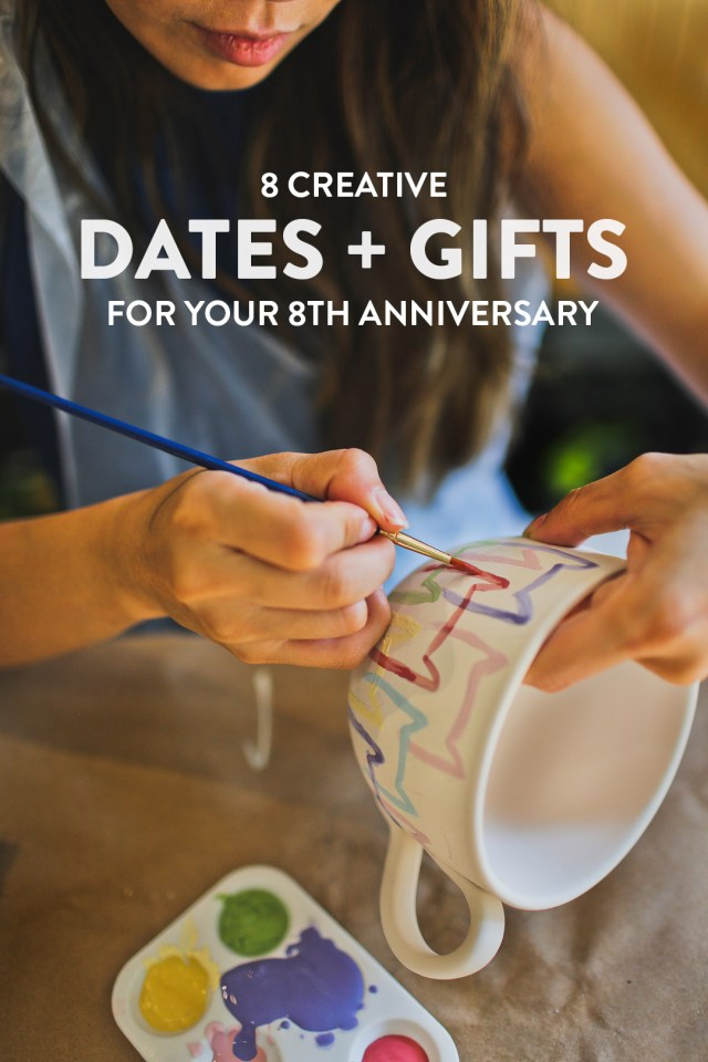 Wedding Anniversary Ideas 8 Creative Date Ideas And 8th Wedding Anniversary Gifts