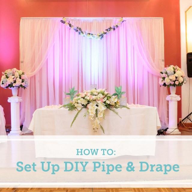 Wedding Backdrop Ideas How To Set Up A Diy Wedding Backdrop