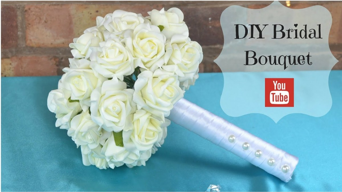 Wedding Bouquets Diy Diy Bridal Bouquet How To Create Your Own Bridal Wedding Flowers
