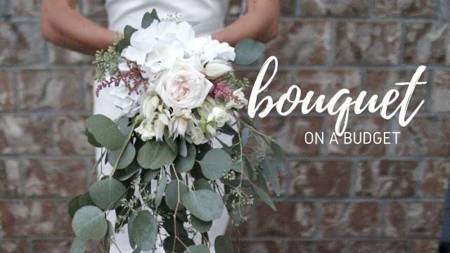 Wedding Bouquets Diy Diy Wedding Bouquet 20 Cascading Boho Bouquet Youtube