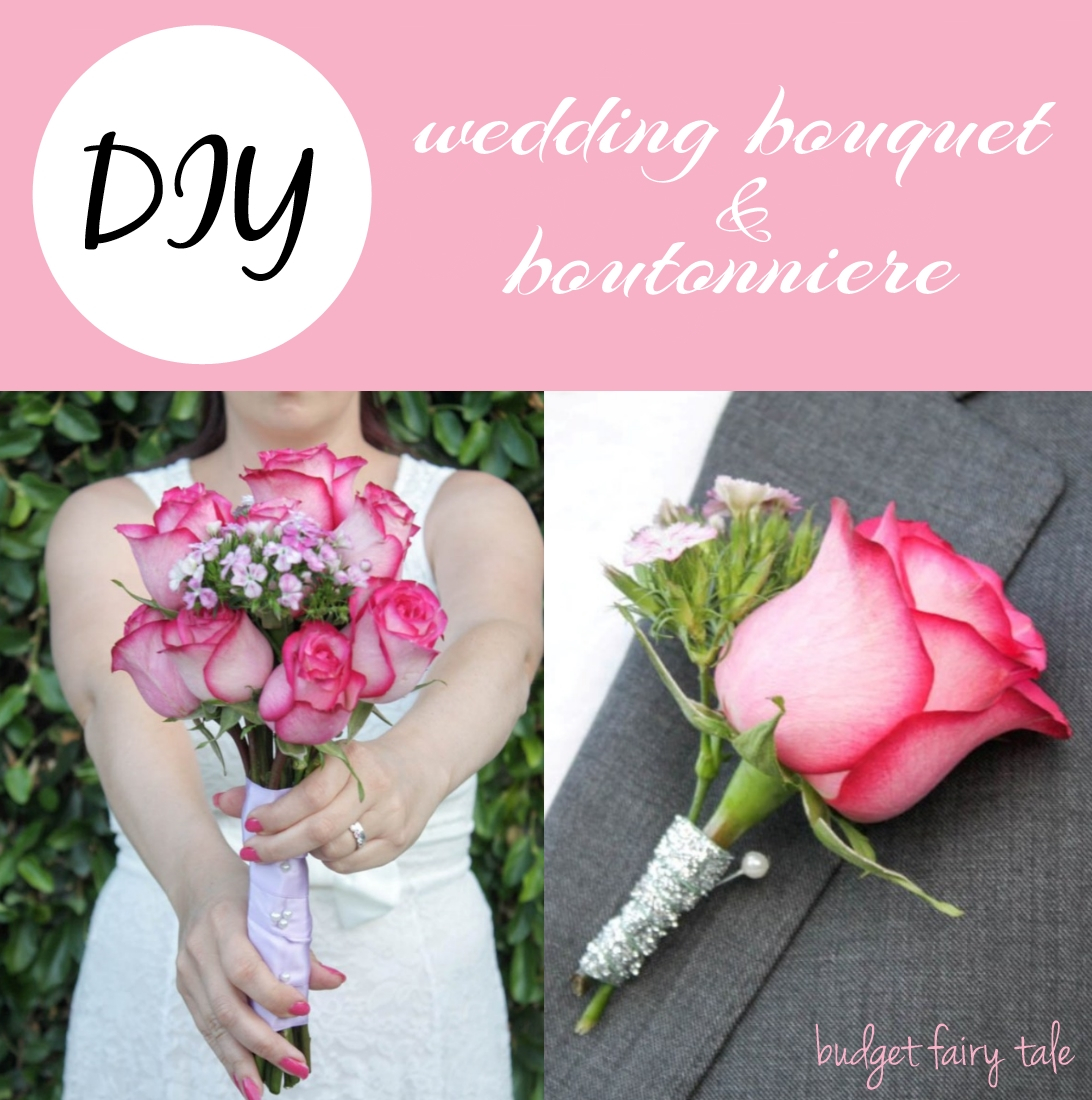 Wedding Bouquets Diy Diy Wedding Bouquet And Boutonniere This Fairy Tale Life