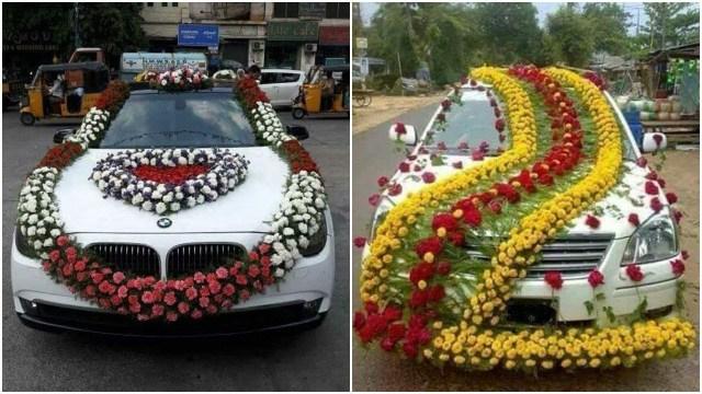 Wedding Car Decorations Ideas Wedding Car Decoration Ideas Design