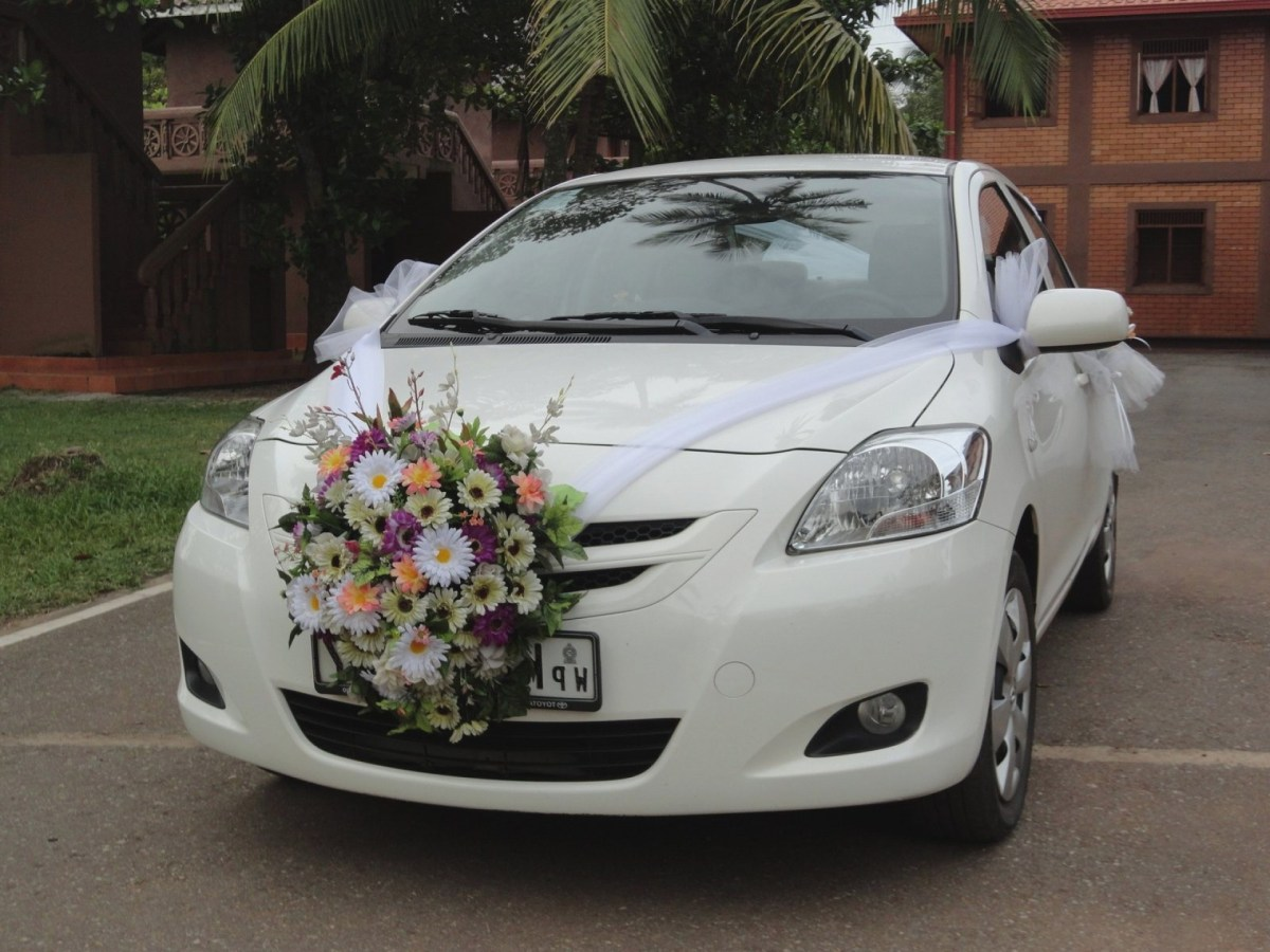 Wedding Car Decorations Ideas Wedding Car Decorations Kit Satnw