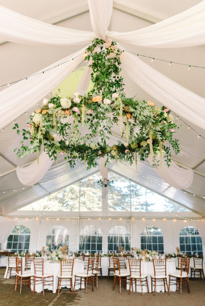 Wedding Ceiling Decorations 20 Hanging Centerpieces To Spice Up Your Ceiling Weddingwire