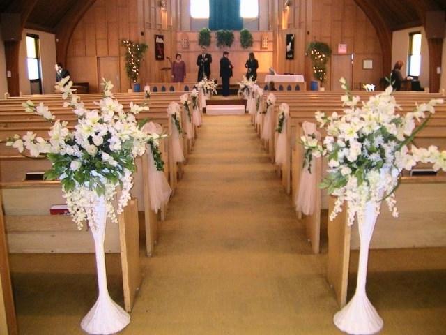 Wedding Chapel Decorations Wedding Church Decoration Within Church Rustic Wedding Decoration