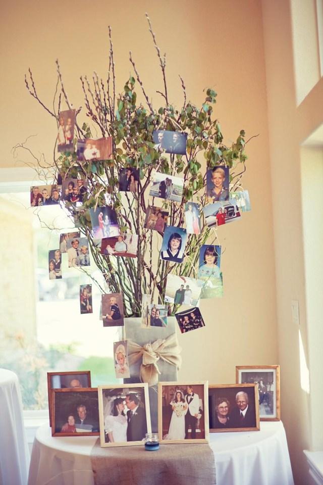 Wedding Decor Diy Ideas 26 Creative Diy Photo Display Wedding Decor Ideas Tulle