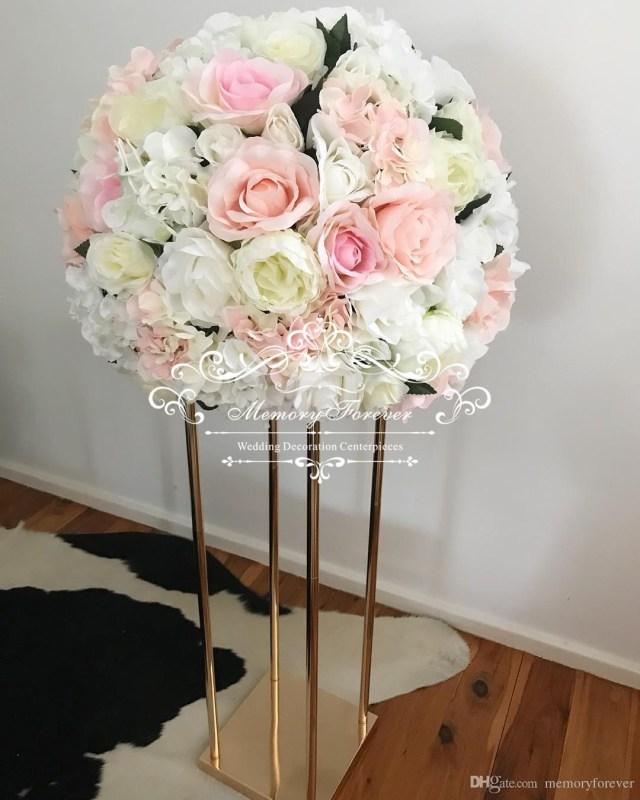 Wedding Decor Gold Gold Flower Stand Wedding Flower Vase Metal Centerpiece Vase Wedding