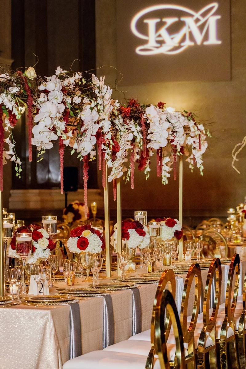 Wedding Decor Gold Reception Dcor Photos Gold Wedding Decor Inside Weddings