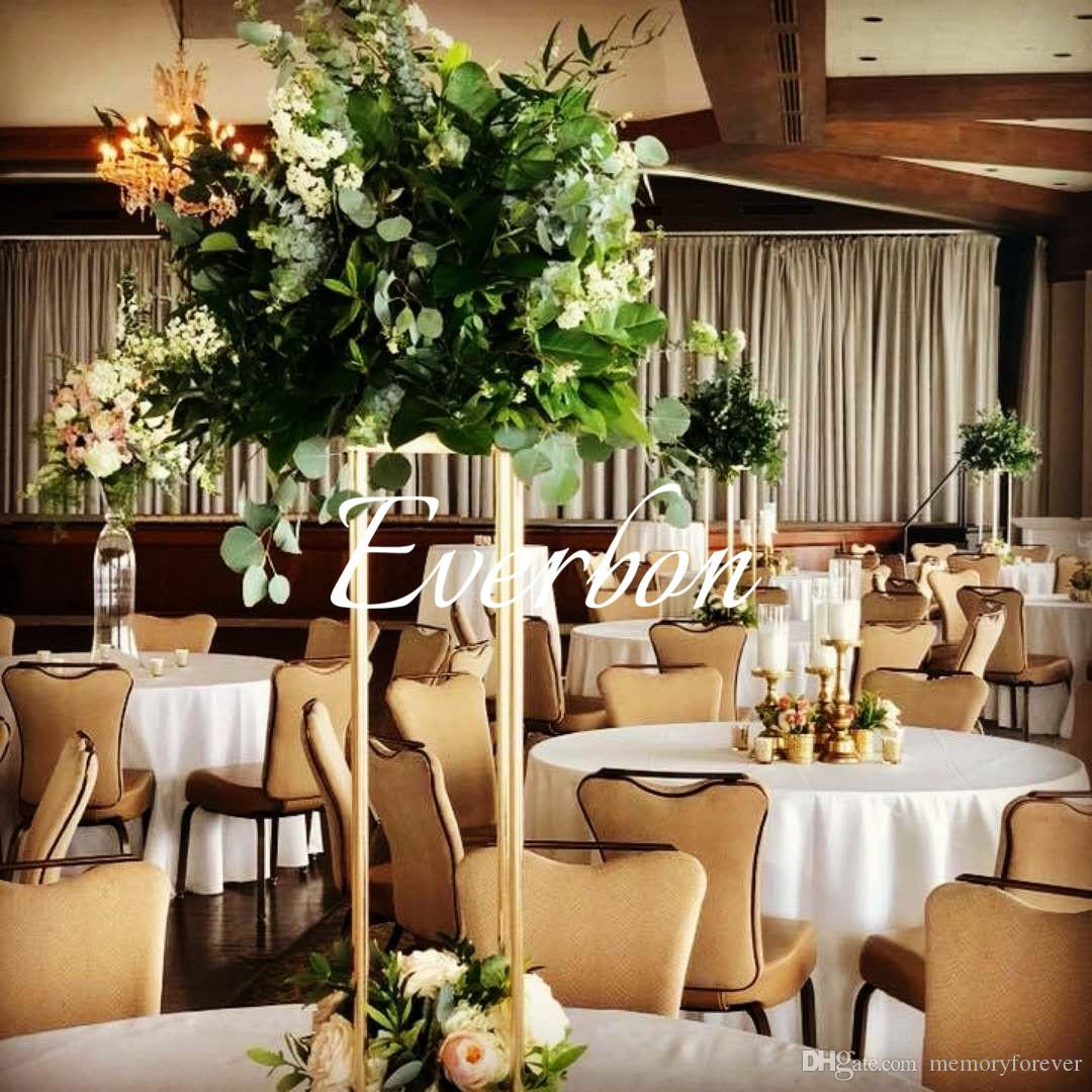 Wedding Decor Gold Wedding Decoration Flower Vase Metal Vases For Artificial Flowers