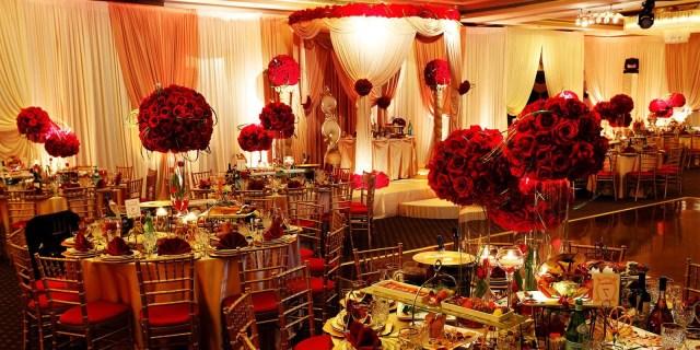 Wedding Decor Gold Wedding Decoration Red Gold Wedding Decorations Weddingations