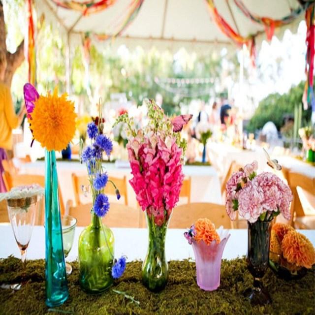 Wedding Decorations Colorful Colorful Wedding Theme Images U2013 Wedding Decoration Ideas With