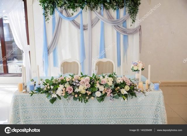 Wedding Decorations Colorful Wedding Decorations Colorful Flowers Stock Photo Olgaburtseva