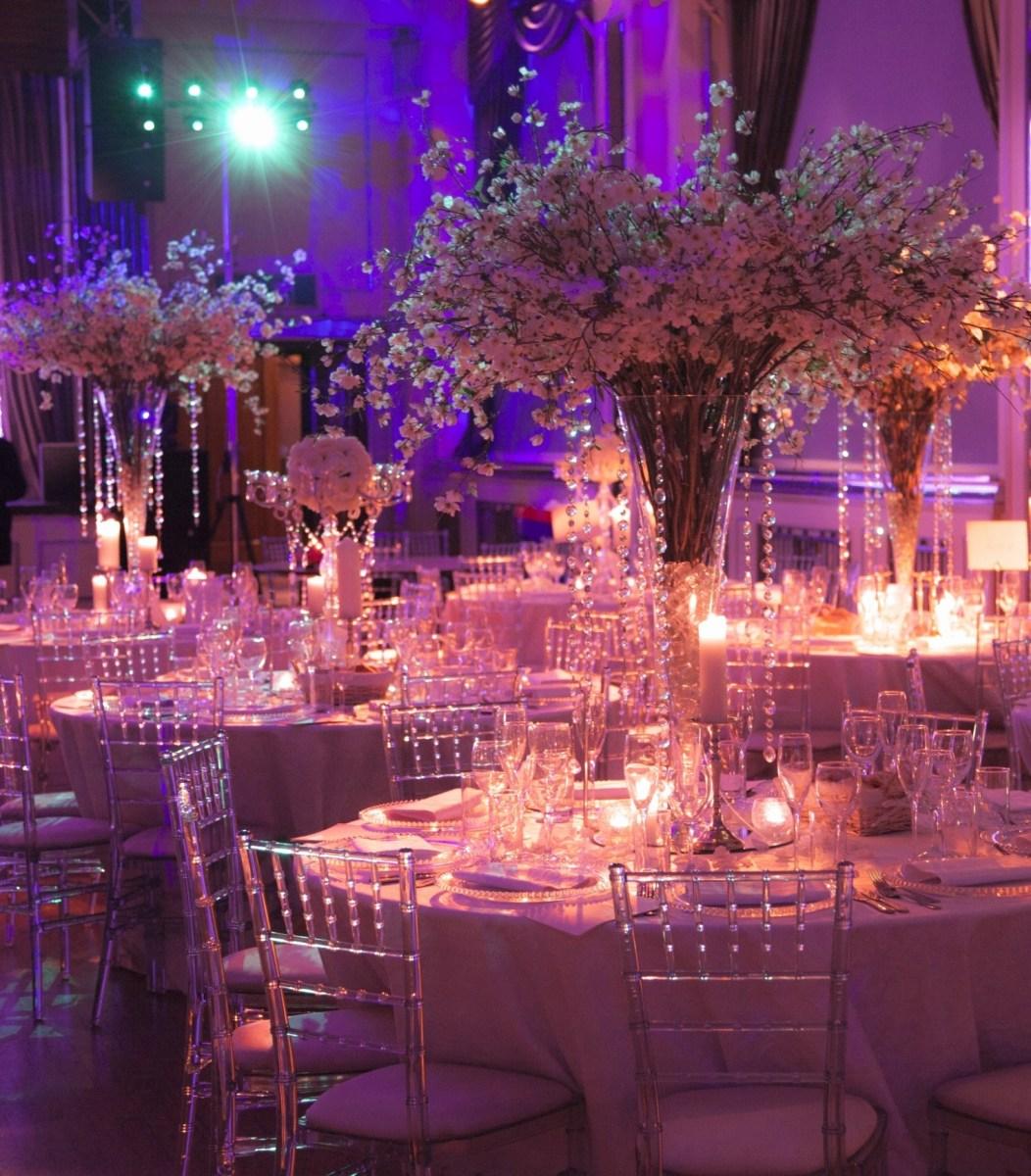 Wedding Decorations Elegant White Wedding Receptions White Wedding Decorations With Elegant