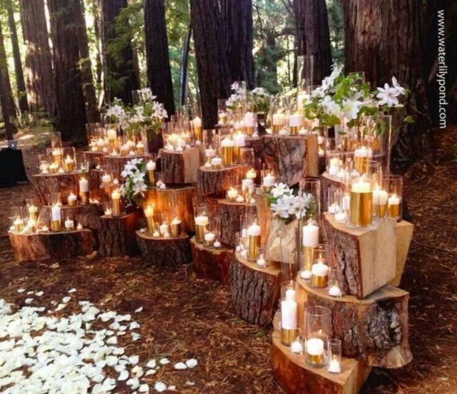 Wedding Decorations For Fall 36 Budget Friendly Outdoor Wedding Ideas For Fall Vis Wed