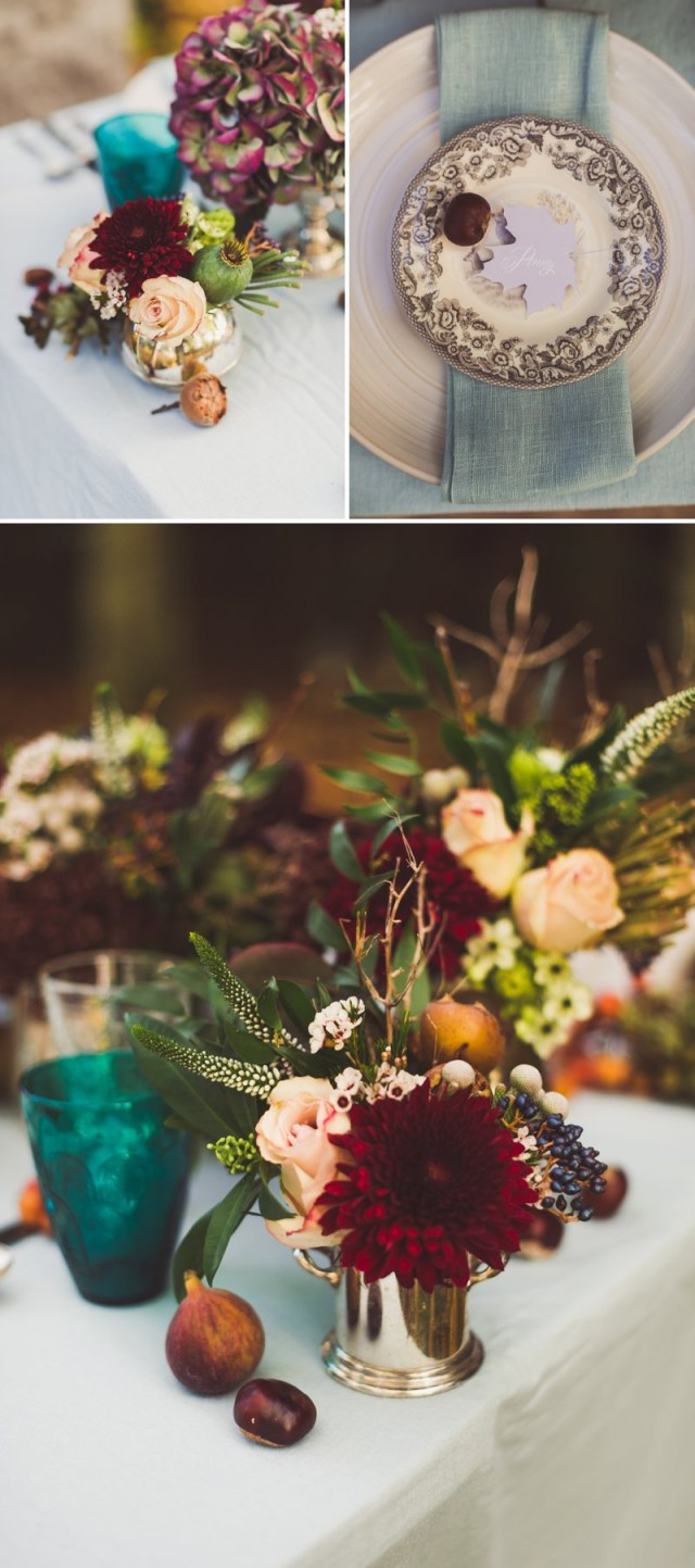Wedding Decorations For Fall Autumn Fall Inspired Wedding Decor And Fashion Editorial Rock My