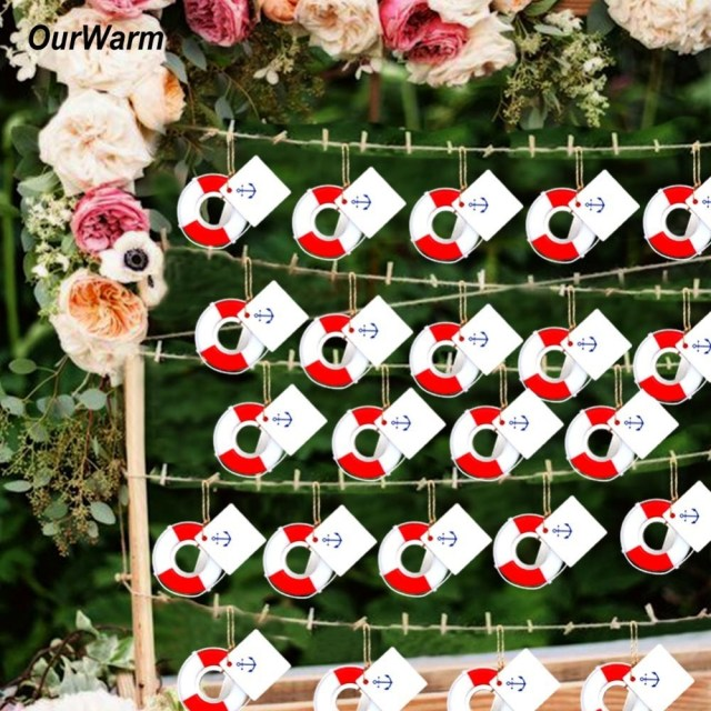 Wedding Dyi Decorations Ourwarm 20pcs Lifesaver Bottle Opener Nautical Theme Ba Shower