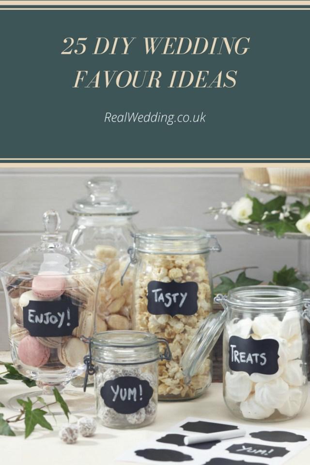 Wedding Dyi Ideas 25 Diy Wedding Favour Ideas Real Wedding