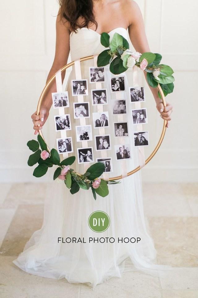 Wedding Dyi Ideas 26 Creative Diy Photo Display Wedding Decor Ideas Tulle