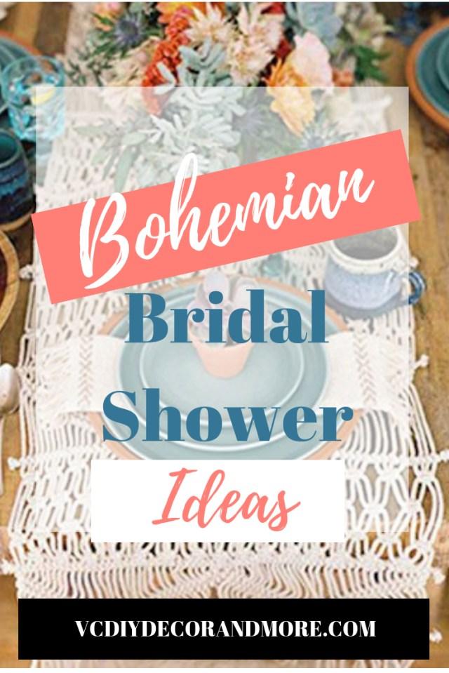 Wedding Dyi Ideas Bohemian Bridal Shower Ideas For A Diy Boho Chic Wedding Vcdiy
