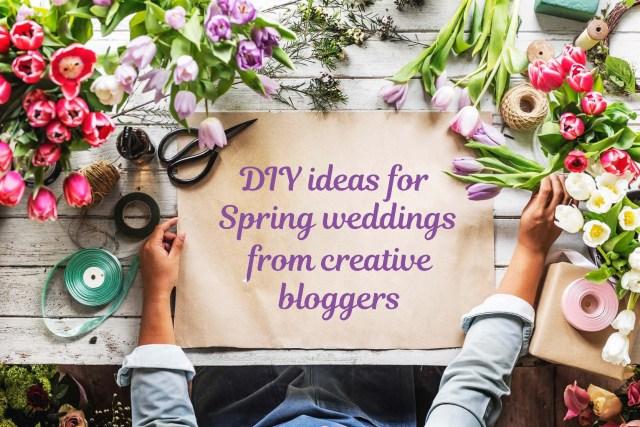 Wedding Dyi Ideas Diy Spring Wedding Ideas Weddingmix